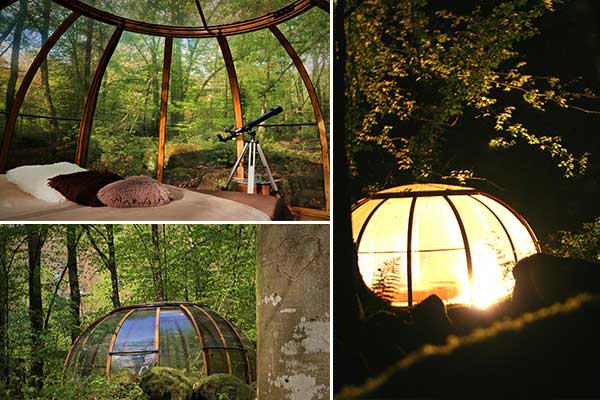 Nuits insolites - Nuit insolite bulle normandie ...